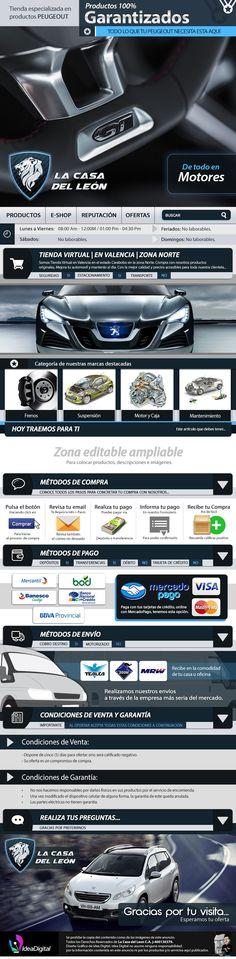 Cliente: La Casa del León / Plantilla editable de Mercadolibre / Propiedad Idea Digital / 2014 / #Mercadolibre #Design #Graphicdesign #diseño #diseñográfico #Ventas #creative #art #business #flatdesign #marketing #art #artdesign #publicity #marketingweb #web #webdesign #plantilla #Plantillamercadolibre #ideadigital  Visítanos: www.ideadigital.com.ve