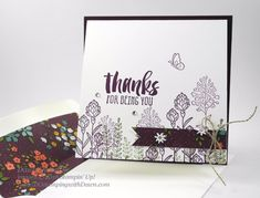 Sale-a-Bration Flowering Fields cards created by Dawn Olchefske for Control Freak Blog Tour #dostamping #stampinup