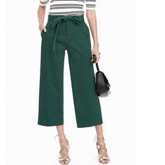 Spotted while shopping on Poshmark: Banana Republic Wide- Leg crop pants! #poshmark #fashion #shopping #style #Banana Republic #Pants