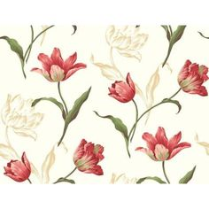 York Wallcoverings60.75 sq. ft. Tulip Wallpaper