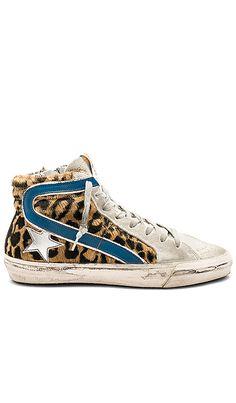 37724a25c Slide Sneaker in Ice & Black Spot Horse Black Spot, Golden Goose, 21st  Birthday
