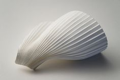 Richard Sweeney Abstract Paper, Sound Art, Cardboard Art, Creative Journal, Higher Design, Shape And Form, Paper Models, Ceramic Artists, Sculpture Art