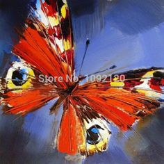 Mariposa Pintura Al Óleo Hecha A Mano Del Producto Salón Decoración de La Pared Pinturas de Arte de la Venta Caliente Para El Hogar Regalo Tan Único