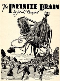 Frank R. Paul illustration, 1920s
