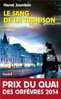 Le Bouquinovore: Le sang de la trahison, Hervé Jourdain