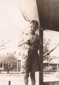 Billy Joe Takin' a Photo, April 1940, Vintage Photograph, Sepia Colored Snapshot, Young Boy with Camera, Vernacular Picture, Vintage Camera by BettywasaBombshell on Etsy