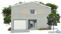 Modern House Plan CH155