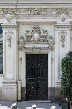 Door at 1, Rue d'Hauteville, Paris