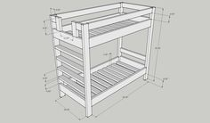 2x4 bunk bed plans Easy to build bed plans These bed plans require minimal equipment and use regular 2x4 construction A reader s version of a bunk bed based on my plans Feb 18 2014 Animation and Basic Instructions on how to construct a Simple 2x4 Bunkbed Hanging Nautical Bunk Beds Boys Bedroom Theme Ideas I really wanted to build them inexpensively and found your site and your plans helpful The design of your beds was really clean and didn t look like 2x4 Get free bunk bed plans for very ...