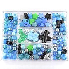 Kids Plastic Blue, Green & Black Kit | Simple Kits