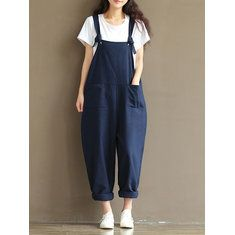2017 Fashion Women Belt-pants Jumpsuits New Womens Strap Loose Jumpsuit Casual Dungaree Harem Trousers Girl Overall Pant Solid 1 Onepiece Jumpsuit, Asos Jumpsuit, Jumpsuit Casual, Overall Jumpsuit, Cotton Jumpsuit, Bodycon Jumpsuit, Jumpsuit Dress, Cotton Pants, Dress Pants