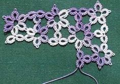 This is pretty!  Laurie, you should follow this person.  She pins a lot of tatting pretties!