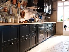 Rustikt med METOD | Livet Hemma – IKEA Rústica con MÉTODO   En Navidad, muchos de nosotros estamos soñando con una cocina con espacio para cocinar y comensales útiles. Si usted tiene un espacio más o menos amplio por lo que son una gran cantidad de soluciones inteligentes que ayuden a la cocina de sus sueños.