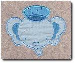 Applique Elephant Sailor DesignIncludes Multiple by 8clawsandapaw, $1.95