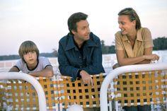 Peter Alexander mit Kindern Susanne und Michael