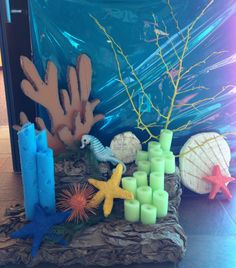 """Pool noodles!  This scene is a little too """"Under the Sea"""" for Journey Off the Map, but I really like it.  Inspiring!"""