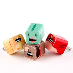 Domesticated iPhone/iPod Set - Whooz? Customize your chargers!