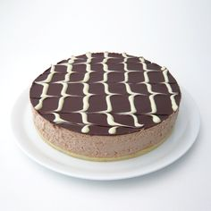 cómocomo: Tarta mousse de chocolate con leche