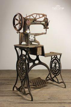 Original Leather Patcher Singer Machine