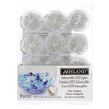 This item is sold individually in store.Enjoy an exciting and colorful pool party using the Submersible LED Lights by Ashland™. Place them under transparent stones in your fish tank and watch them bli