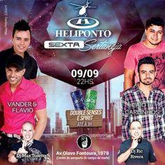Heliponto Bar   Vander & Flavio e Caio & Carlinhos Listas pelo link: http://www.baladassp.com.br/balada-sp-evento/Heliponto-Bar/455 Whats: 951674133