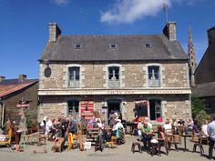 Village life in rustic France