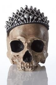 Skeleton with Jeweled Crown
