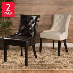 Awesome Broxton Dining Chair 2 Pack Spatini Nail And Skin Salon Beatyapartments Chair Design Images Beatyapartmentscom