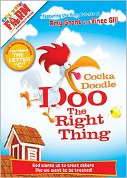 Great DVD for ages 4-7: On the Farm: Cocka Doodle Doo the Right Thing | I Choose Joy!--Giveaway until Monday 4/22/13
