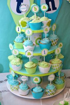 Frog Party-- might be a good Boy baby shower idea :)