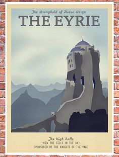 Visit Middle-earth and Winterfell in these 9 geekily awesome travel posters | Blastr