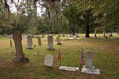 High Bluff Primitive Baptist Church Cemetery Schlatterville Hoboken GA Brantley County Old Pioneer Cemetery Picture Image Photograph Copyrig...