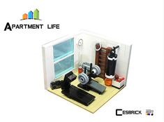 LEGO Apartment life - Home Gym