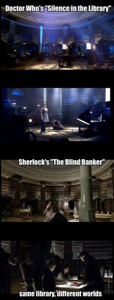 doctor who sherlock same set
