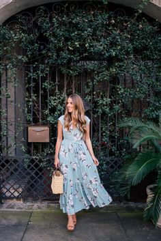 Floral Maxi Dress - Gal Meets Glam