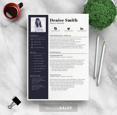 Teacher Resume Examples 2018 Delectable Teacher Resumecv Template  Sarah Creativewor…  Resume Templates .