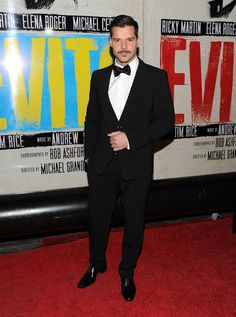 """Ricky Martin attends the """"Evita"""" broadway opening night after party at the Marquis Theatre on April 5, 2012 in New York City."""