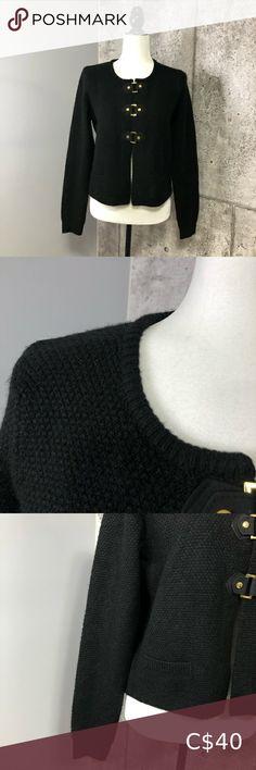 Cynthia Rowley Knit Waffle Jacket Very good condition. Gold tone hardware. Cynthia Rowley Jackets & Coats