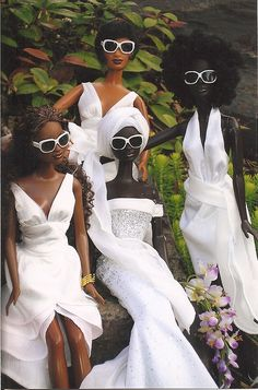 black beauties, cool and glamorous