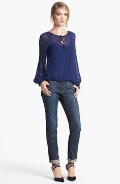 How cute is this textured top!