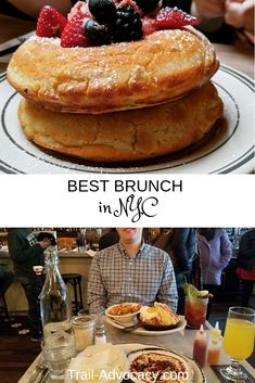 Our Favorite Brunch Places in NYC - Trail Advocacy New York City Attractions, Brunch Nyc, New York Travel Guide, Baked Pancakes, Brunch Places, Savory Crepes, New York Food, French Restaurants, Pumpkin