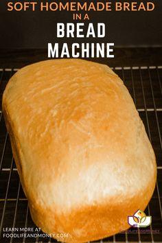 White Bread Machine Recipes, Bread Machine Rolls, Best Bread Machine, Bread Maker Machine, Bread Maker Recipes, Easy Bread Recipes, Cooking Recipes, Brioche Bread Machine Recipe, Bread Machine Recipes Healthy