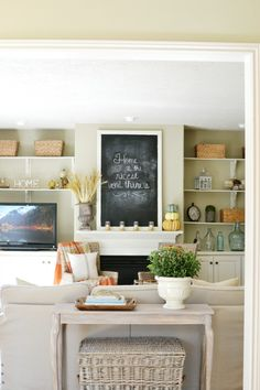 Fall Home Tour 2016 - At The Picket Fence