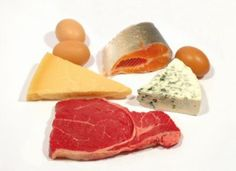 Low-carb diets are often thought of as high in protein, and indeed, getting sufficient protein is the foundation of most low-carb diets. However, this does not have to mean a diet very high in protein. High Protein Low Carb, High Protein Recipes, Protein Foods, Low Carb Diet, Paleo Diet, Low Carb Recipes, Healthy Recipes, Protein Sources, Easy Recipes