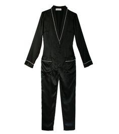 Silk Pajama Jumpsuit - Fleur Du Mal