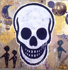 donald baechler skull