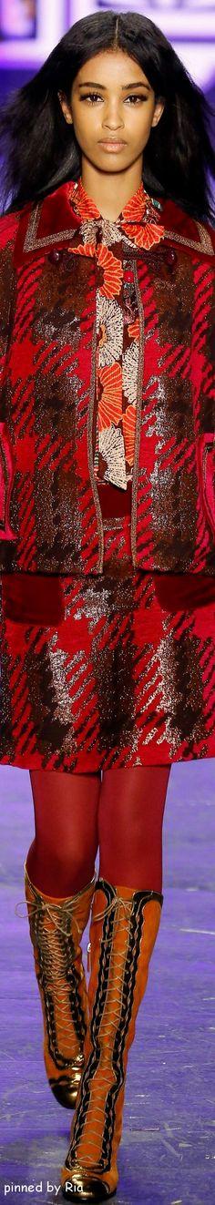 Anna Sui Fall 2016 RTW l Ria