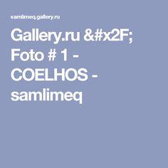 Gallery.ru / Foto # 1 - COELHOS - samlimeq