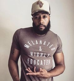 """126 Likes, 9 Comments - Black Menswear (@blackmenswear) on Instagram: """"#Repost Salute to @willfordjunior for the DOPE hat and shirt!! 5/5 > 3/5 ✊🏾 #BlackMenswear…"""""""