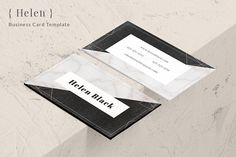 { Helen } Business Card Template by MediaNovak on @creativemarket